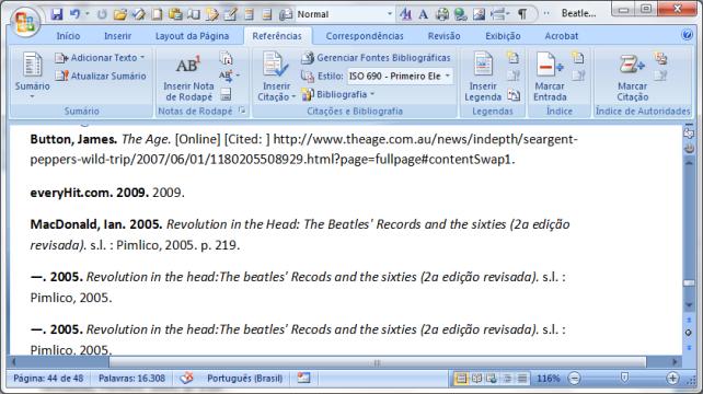 MS Word 2007 citações e bibliografia (6)