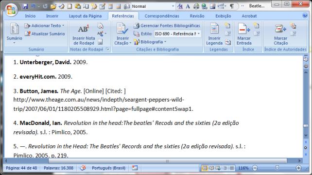 MS Word 2007 citações e bibliografia (7)