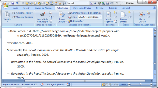 MS Word 2007 citações e bibliografia (8)
