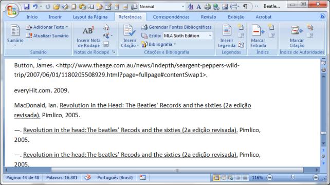 MS Word 2007 citações e bibliografia (9)