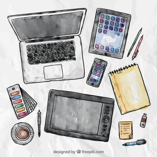 laptop-tablet-smartphone-and-writing-tools_23-2147523611